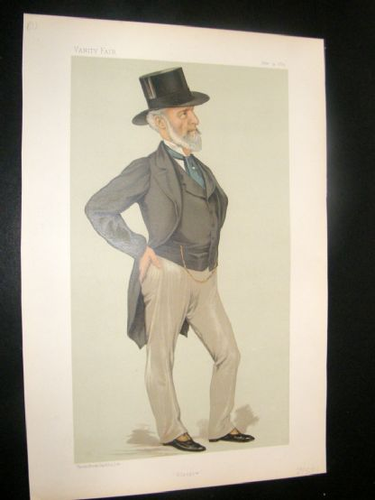 Vanity Fair Print 1883 Charles Clow Tennant, Business | Albion Prints